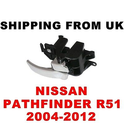 Nissan Pathfinder R51 Inner Interior Door Handle Driver Front Right Off Side Rh