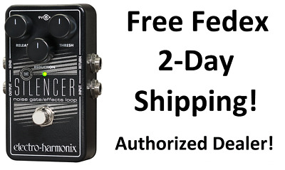 New Electro-Harmonix EHX Silencer Noise Gate / Effects Loop Guitar Pedal