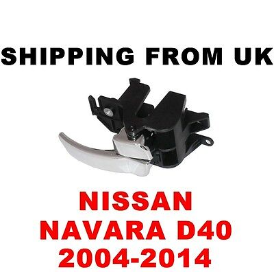Nissan Navara Mk3 D40 Inner Interior Door Handle Driver Rear Right Off Side Rh