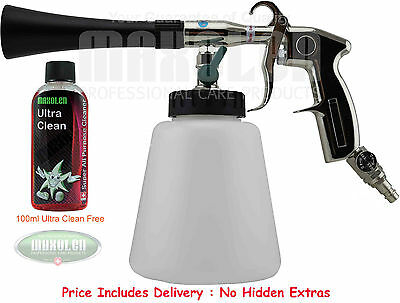 Tornador Black Professional Cleaning Gun Interior & Exterior High Performance