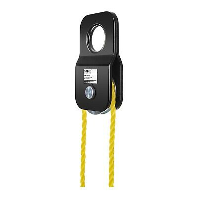 LIFTING WINCH SNATCH BLOCK HEAVY DUTY 4 TON ROPE PULLEY OFF ROAD 4x4 RECOVERY