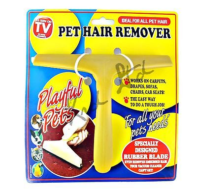 Original As Seen On TV PET HAIR REMOVER Magic Remove Dog Hair Cat Carpet Fluff
