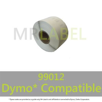 Dymo 99012 Compatible Roll Labels - FAST FREE UK SHIPPING - Multi Roll Discount