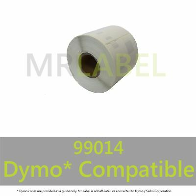 Dymo 99014 Compatible Roll Labels - FAST FREE UK SHIPPING - Multi Roll Discount