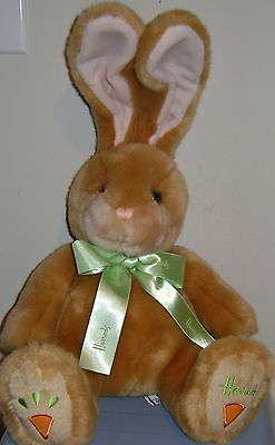 Harrods Knightsbridge Bunny Rabbit Carrot Foot Plush 10""