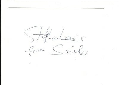 Signed Stephen Lewis On The Buses British Comedy Blakey Autograph Signature