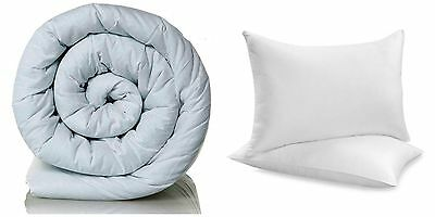 Duvet Quilt With A Pair Of Deluxe Pillows. Tog- 10.5, 13.5 And 15.