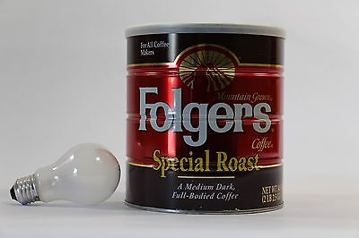Vintage Folgers Coffee Can Special Roast 2 lb. UNOPENED