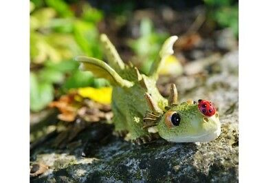 My Fairy Gardens Miniature - Dragon Playing with Ladybug - Supplies Accessories