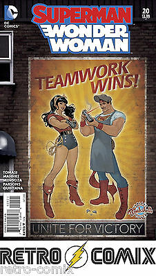 Dc Superman Wonder Woman #20 Bombshells Variant New/unread Bagged & Boarded