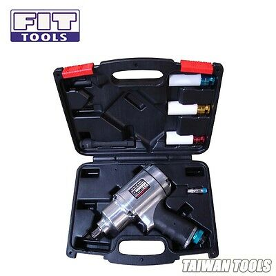 "FIT 1/2"" Air Pneumatic Impact Wrench Kit 8 Select 780ft 1055Nm w/ 3 pcs Sockets-"