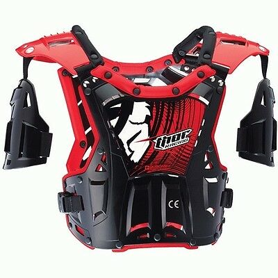 Thor NEW Quadrant Black Red Youth Chest Protector Motocross Toddler Body Armour