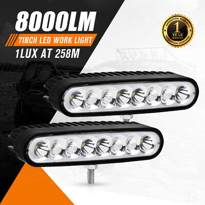 20inch 450W LED Light Bar Philips Spot Flood Combo Offroad Work Driving 4WD
