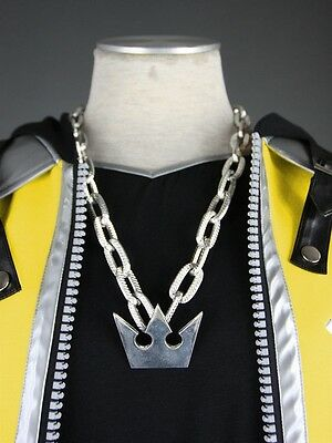 Kingdom Hearts 2.5 HD Remix Sora Metal Sora Crown Anime Pro Necklace