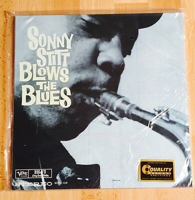 Sonny Stitt - Blows The Blues Analogue Productions Verve 45RPM 200g Vinyl 2-LP