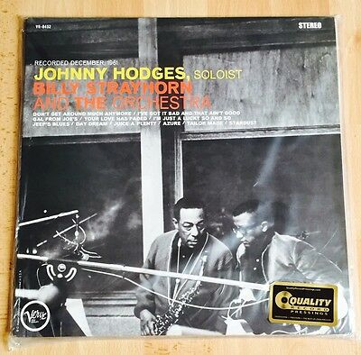 Johnny Hodges With Billy Strayhorn Analogue Productions Verve 45RPM 200g Vinyl