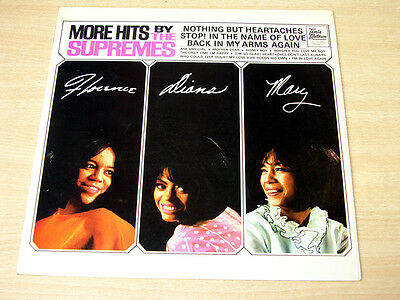 EX-/EX !! The Supremes/More Hits By/1965 Tamla Motown Stereo LP/Diana Ross