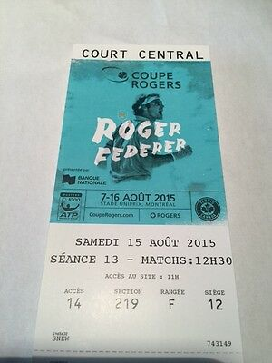 Rogers Cup Tennis - Montreal Tickets Saturday August 15th
