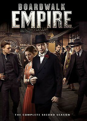 Boardwalk Empire Complete Season 2 DVD Series Brand New Sealed UK R2 2nd Second
