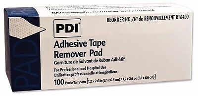 Adhesive Tape Remover Pads by PDI Healthcare, 3 boxes of 100