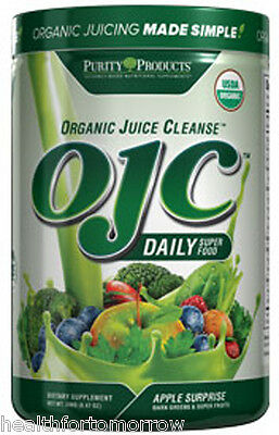 OJC-PURITY PRODUCTS Certified Organic Juice Cleanse 240 g - Apple Surprise
