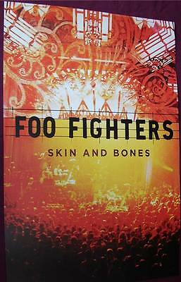 Foo Fighters Promo Poster ... Skin and Bones - SHIPS SAME DAY FROM USA