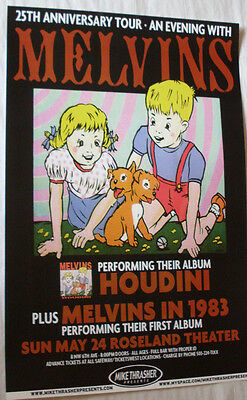 Melvins Concert Poster  ... Houdini