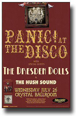 Panic! at The Disco Concert Poster