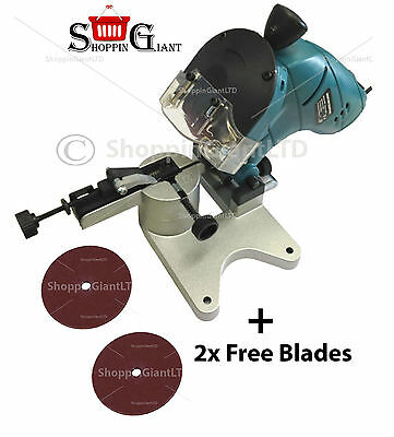 Electric Chainsaw Blade Sharpener 240V/50Hz 130W + 2x FREE Grinding Disc CT2912