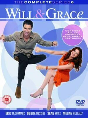 Will and Grace Complete Season 6 DVD Series Brand New & Sealed UK Original