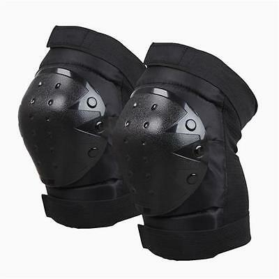 Bike Bicycle Skate Skateboard Scooter Cycling KNEE Pad Protective Gear Black