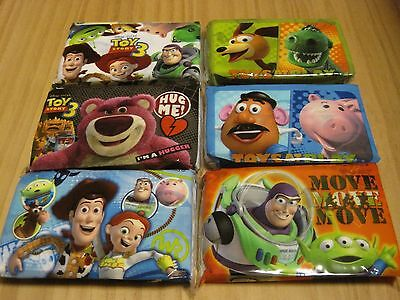 TOY STORY 3 Facial Tissue Paper, Pocket Tissue Dissolve in Water, Woody Buzz Rex