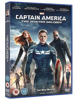 CAPTAIN AMERICA DVD WINTER SOLDIER PART 2 MARVEL UK 2nd Movie Second Film New