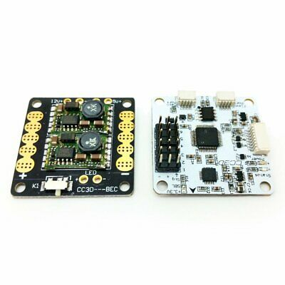 CC3D Rev.C Flight Controller with PDB Power Distribution Board Tower + Spacers