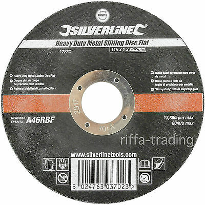 Metal Cutting Discs,115 x 1 mm,Ultra Thin,Angle Grinder,Heavy Duty,Fast,Slitting
