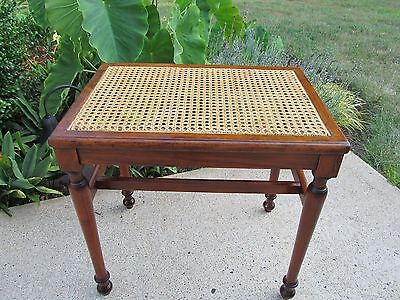 Contant-Ball Traditional Rockmaple Vanity Chair / Bench