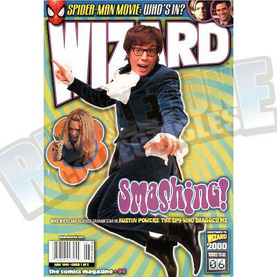 Wizard The Comic Magazine #94 Vf