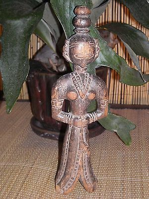 Antique Carved Asian Women