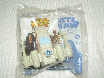 2005 Burger King Star Wars Episode III X-Wing Fighter Kids Meal toy MIP
