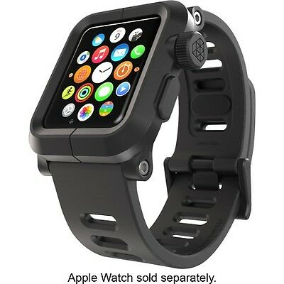 Genuine Lunatik Epik EPIK-001 Rugged Case + Silicone Band for Apple Watch Black