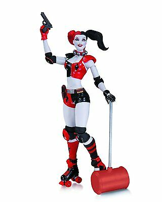 DC Comics Roller Derby Harley Quinn Action Figure The New 52 Collectibles Batman