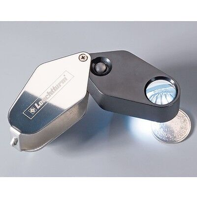 Lighthouse LED Folding Magnifier, 10x magnification, Ø 18 mm, collector, 329828