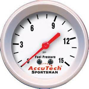 Accutech Fuel Pressure Gauge for Rally BRISCA Autograss
