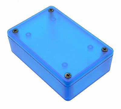 1591XXMTBU Blue Genuine Hammond Translucent ABS Enclosure Box (85 x 56 x 24mm)