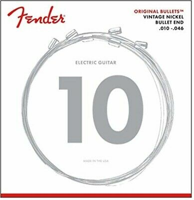 Fender 3150R Original Bullets Pure Nickel Regular Electric Guitar Strings 10-46