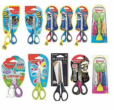 Maped Helix Scissors Learning Children School Stationery Cutters Paper Blades