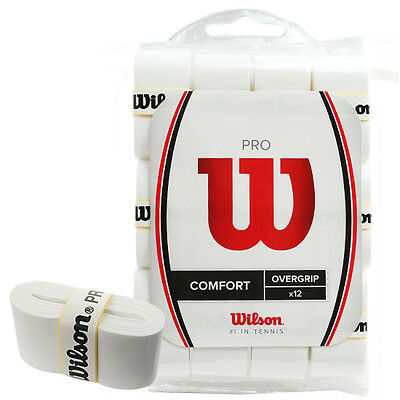 Wilson PRO Overgrip Comfort Grips 12-Pack WRZ4016 With Free Tracking