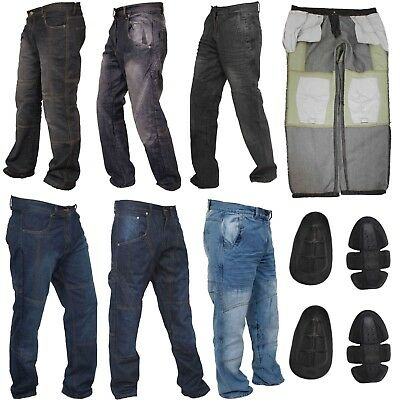 Collection of Motorbike Motorcycle Trousers Jeans Pant with Protective Lining