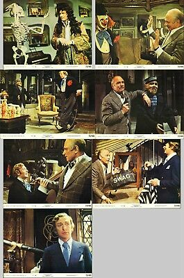Sleuth - Laurence Olivier / Michael Caine - Seven Original American Lobby Cards