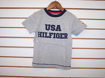 Toddler & Boys $24.00 Tommy Hilfiger Gray or Red T-Shirts Sizes 2T - 12/14